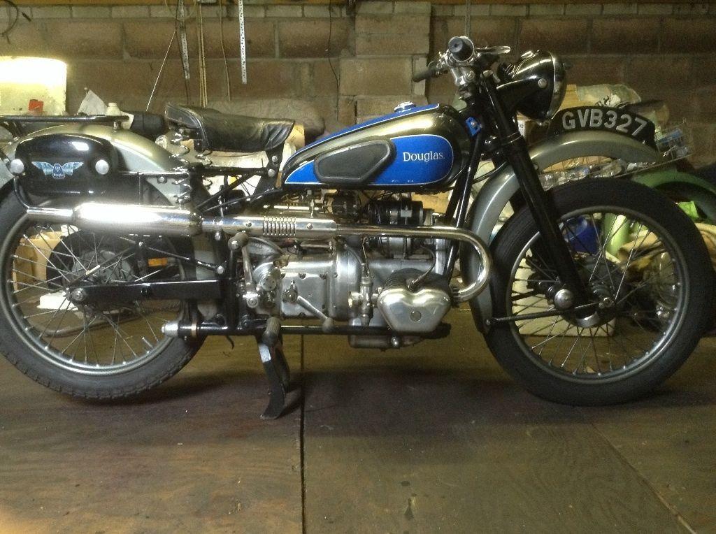 1948 Douglas 350cc Mk3 Sports Vintage Motorcycles Motorcycle Classic