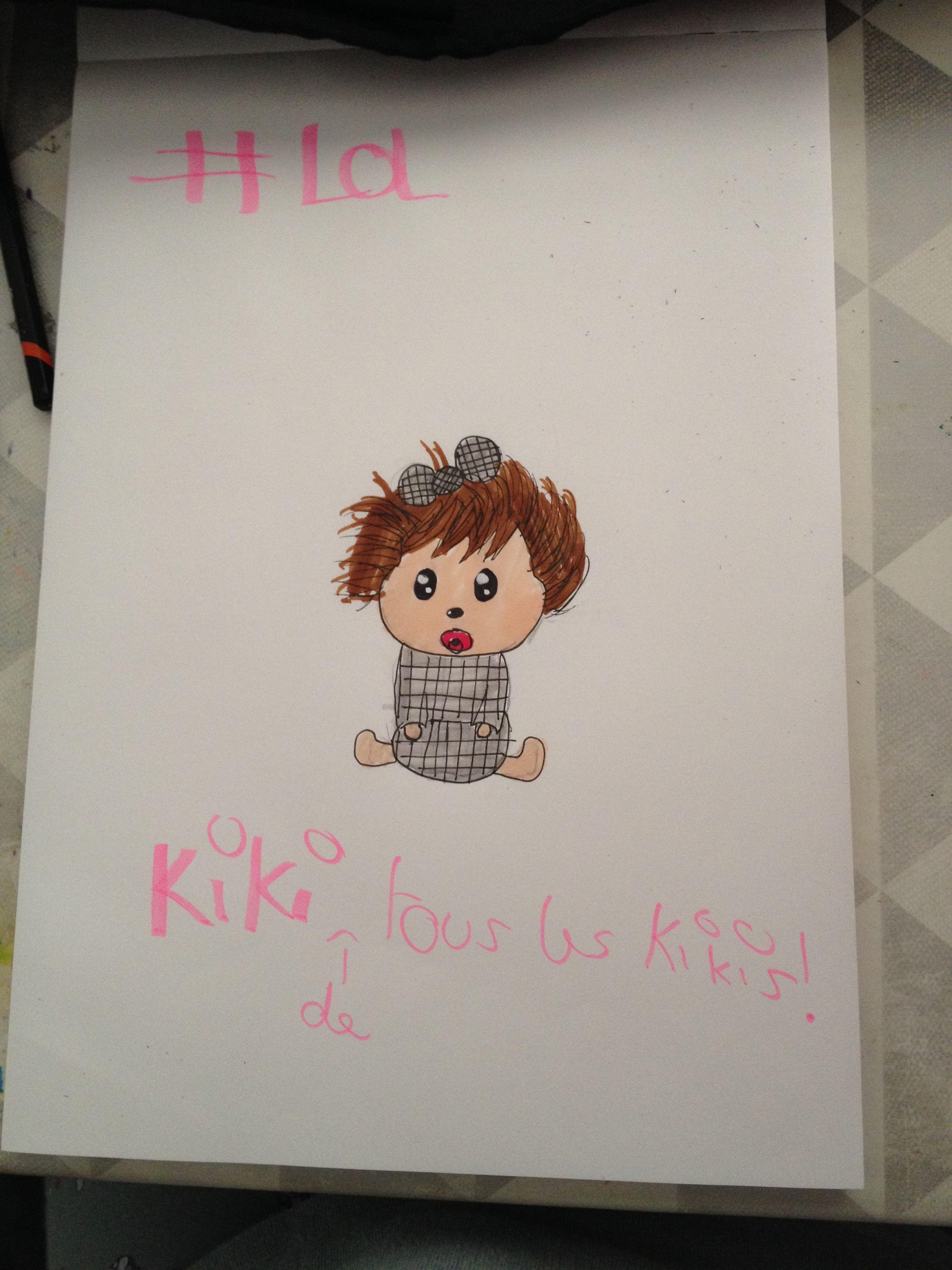 Kiki de tous les Kikis  Fait par ma fille Kiara