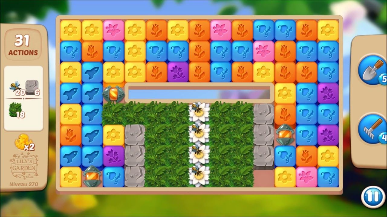 Lily S Garden Level 270 No Boosters In 2021 Lily Garden Garden Levels Lily