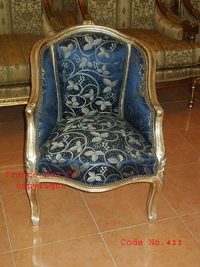 Louis XV style bergere, French Antique Salons, Louis XV Arm Chair, Louis XIV - Louis XV Style Bergere, French Antique Salons, Louis XV Arm Chair