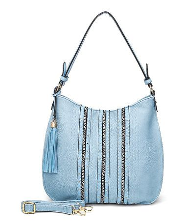 Another great find on #zulily! Light Blue Candace Hobo #zulilyfinds