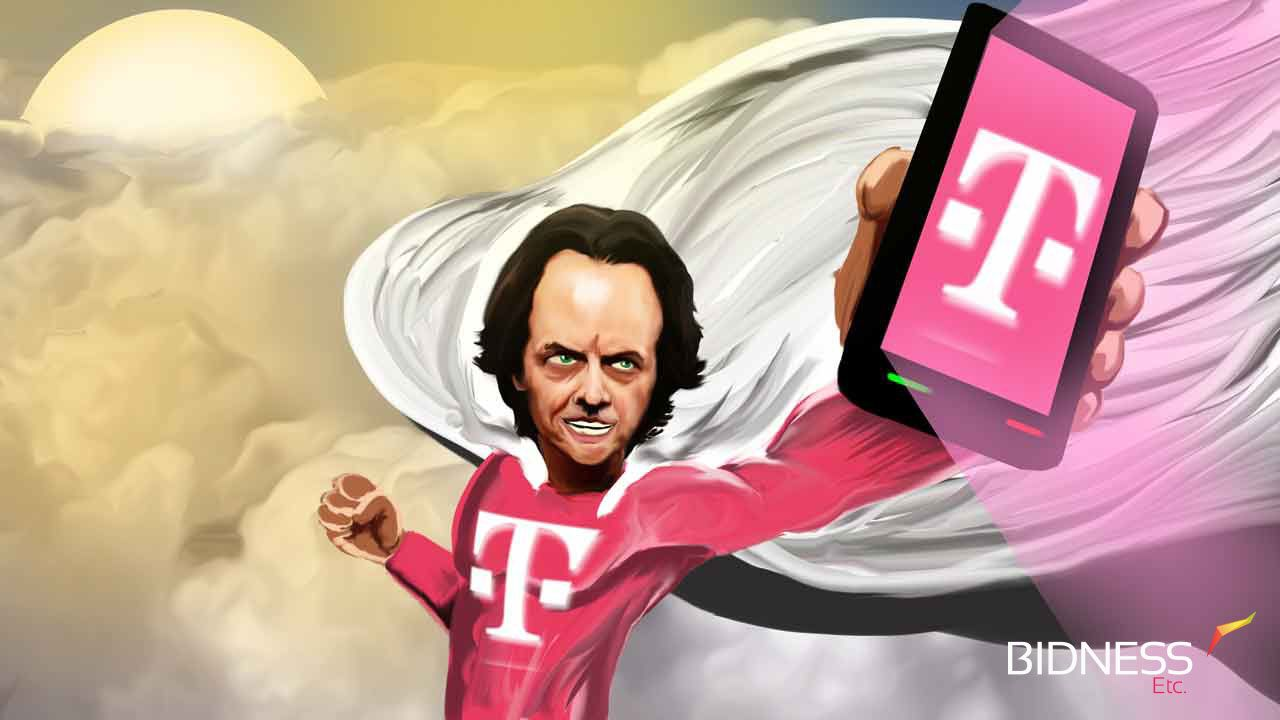 Tmobile has decided to compete with legacy player att on