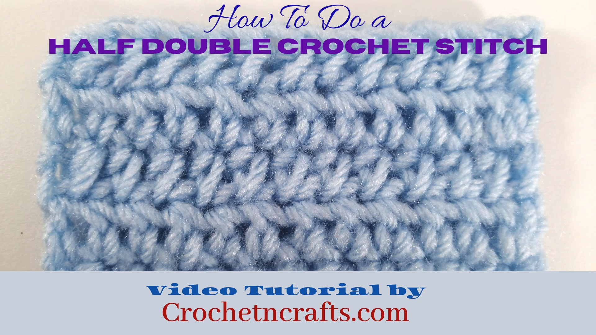Photo of How to do a Half Double Crochet