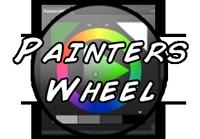 Painters Wheel button Цветовое колесо