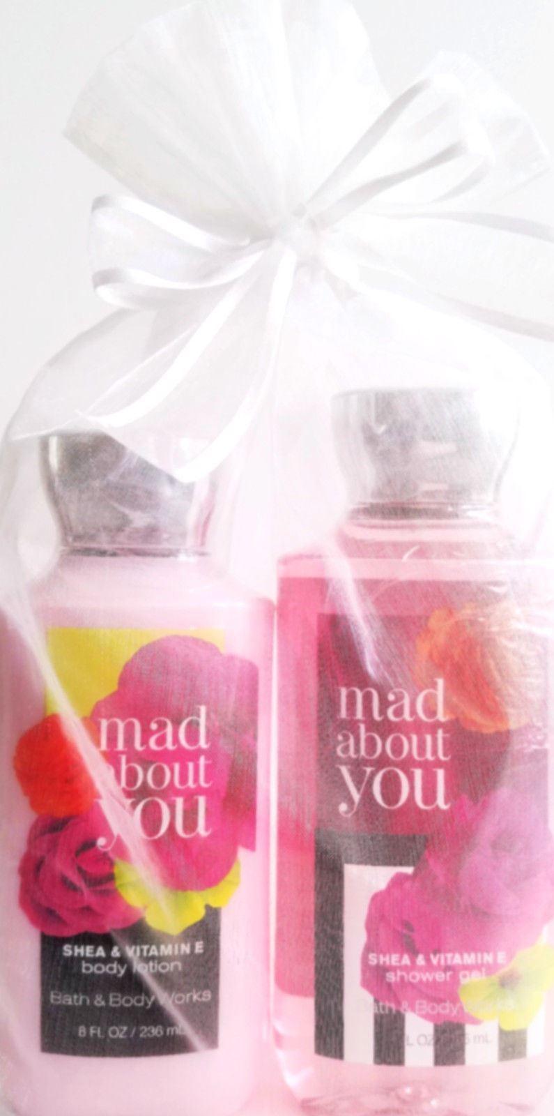 Bath Body Works Mad About You Body Lotion Bath Gel Gift Set Of