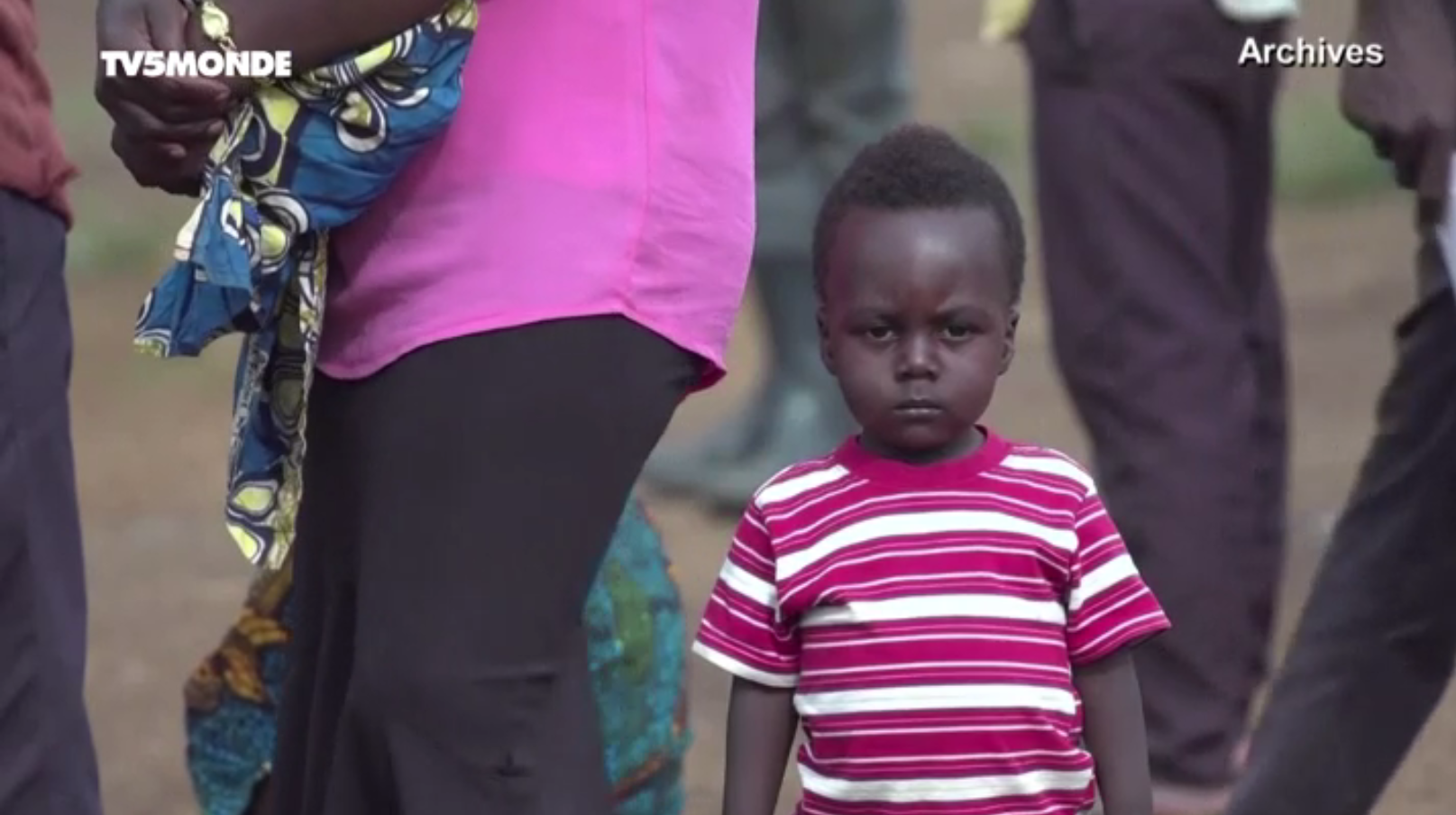 "RDC 8 millions ""d'enfants fantômes"" nés sans état civil"