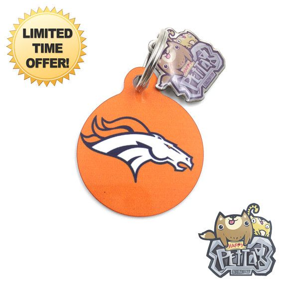 Happy Pet Tag Nfl football pet tag series Denver by happypettag ... c68378bf3