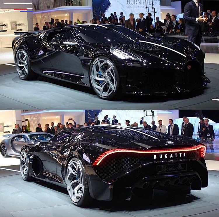 """SUPER CARS on Instagram """"The new Bugatti La Voiture Noire"""