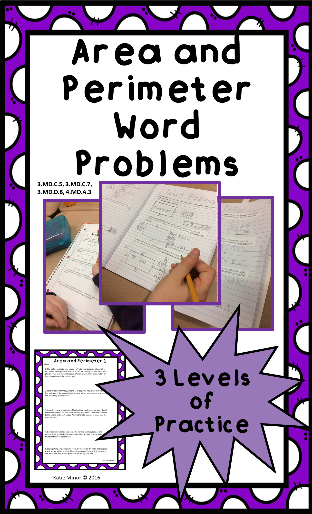 Area And Perimeter Real Life Word Problems