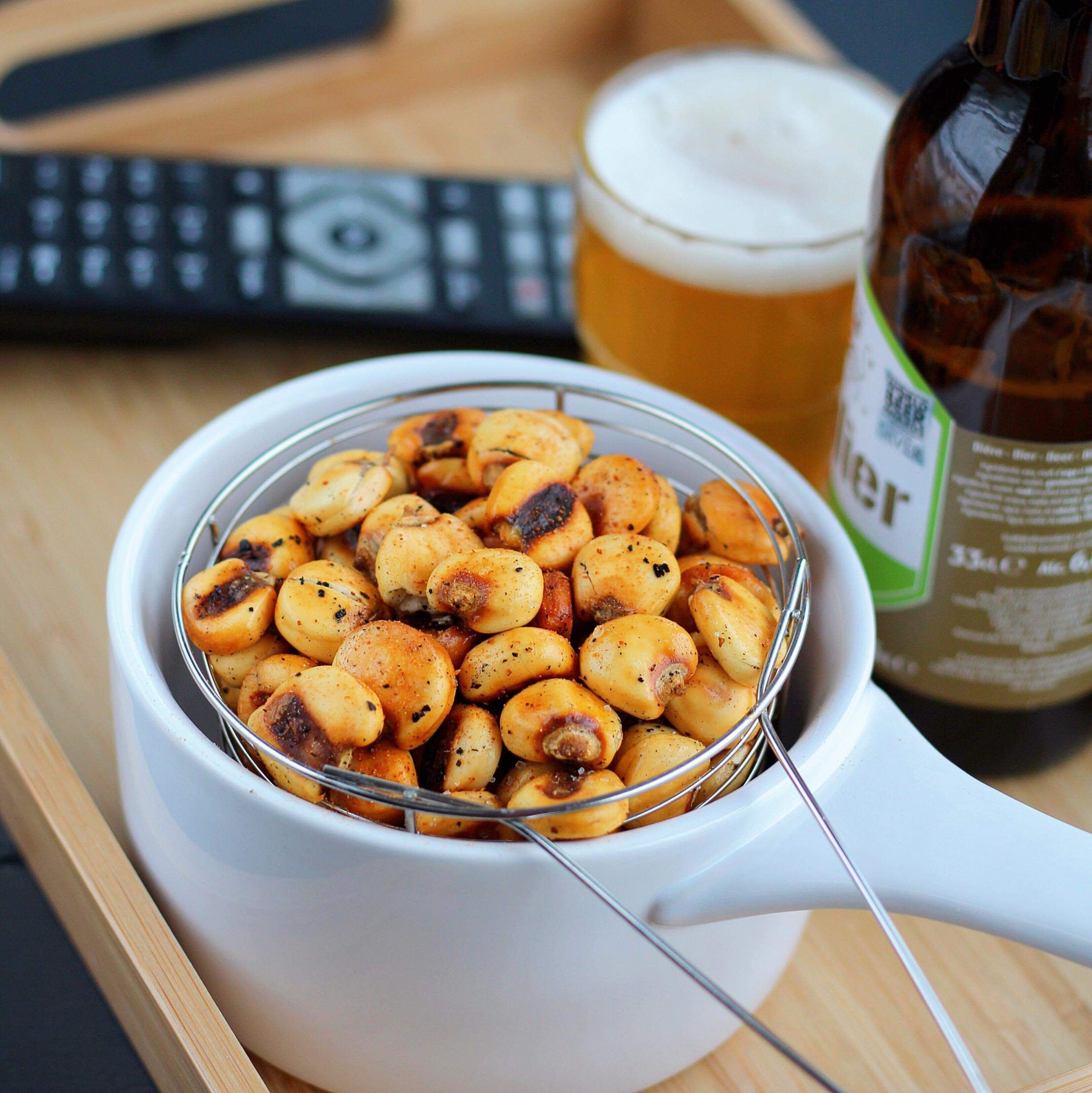 Air Fryer Corn Nuts Recipe in 2020 Corn nut, Salty