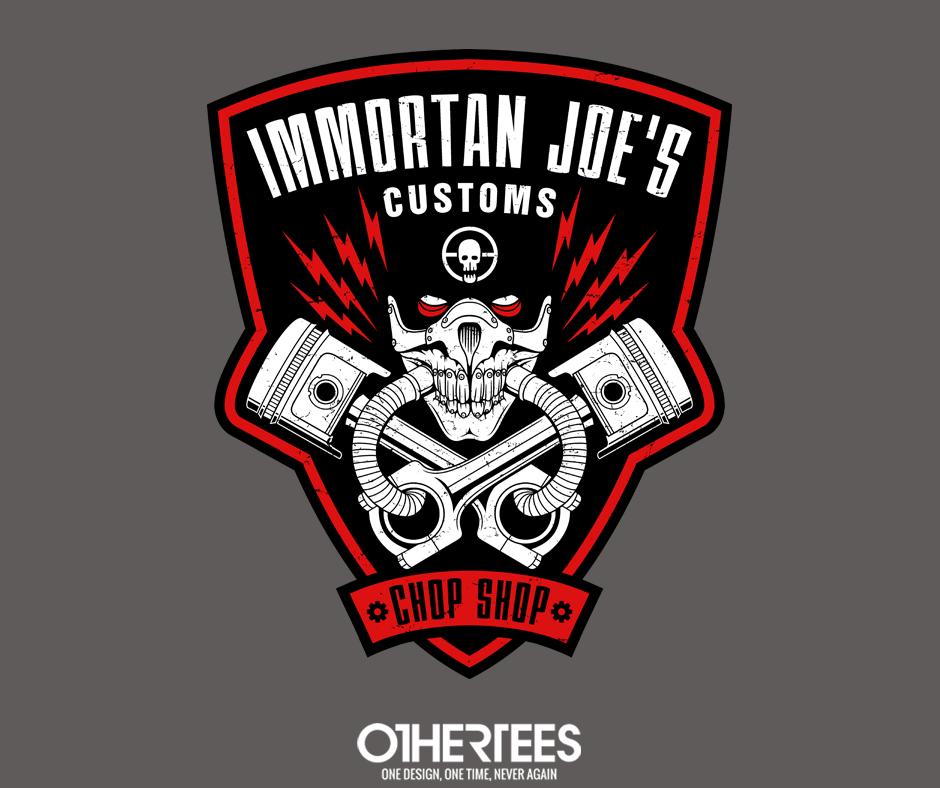 Immortan Joe S Customs By Adho1982 T Shirts Tank Tops V Necks Sweatshirts And Hoodies Are On Sale Until May 30th At Immortan Joe Mad Max Mad Max Fury Road