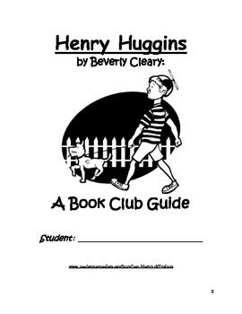 Henry Huggins, by Beverly Cleary: A Book Club Guide | Jean Martin's Balanced Literacy | Henry