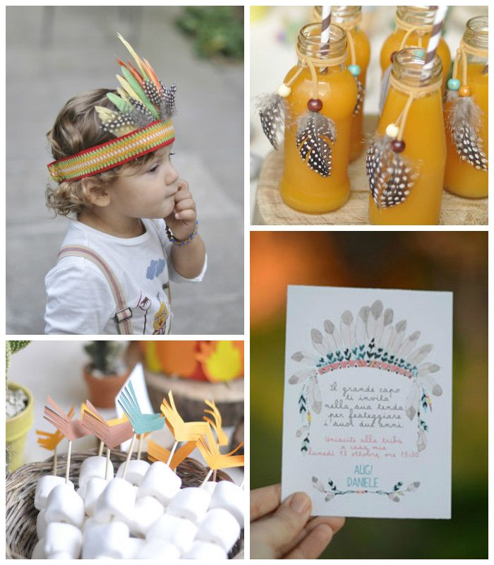 Photo of Little Indian Themed Birthday Party