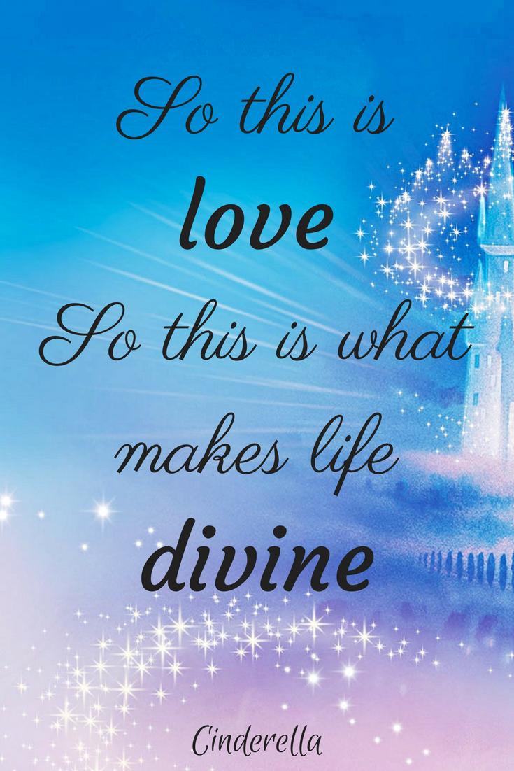 Disney Love Quotes Stunning Disney Love Quotes