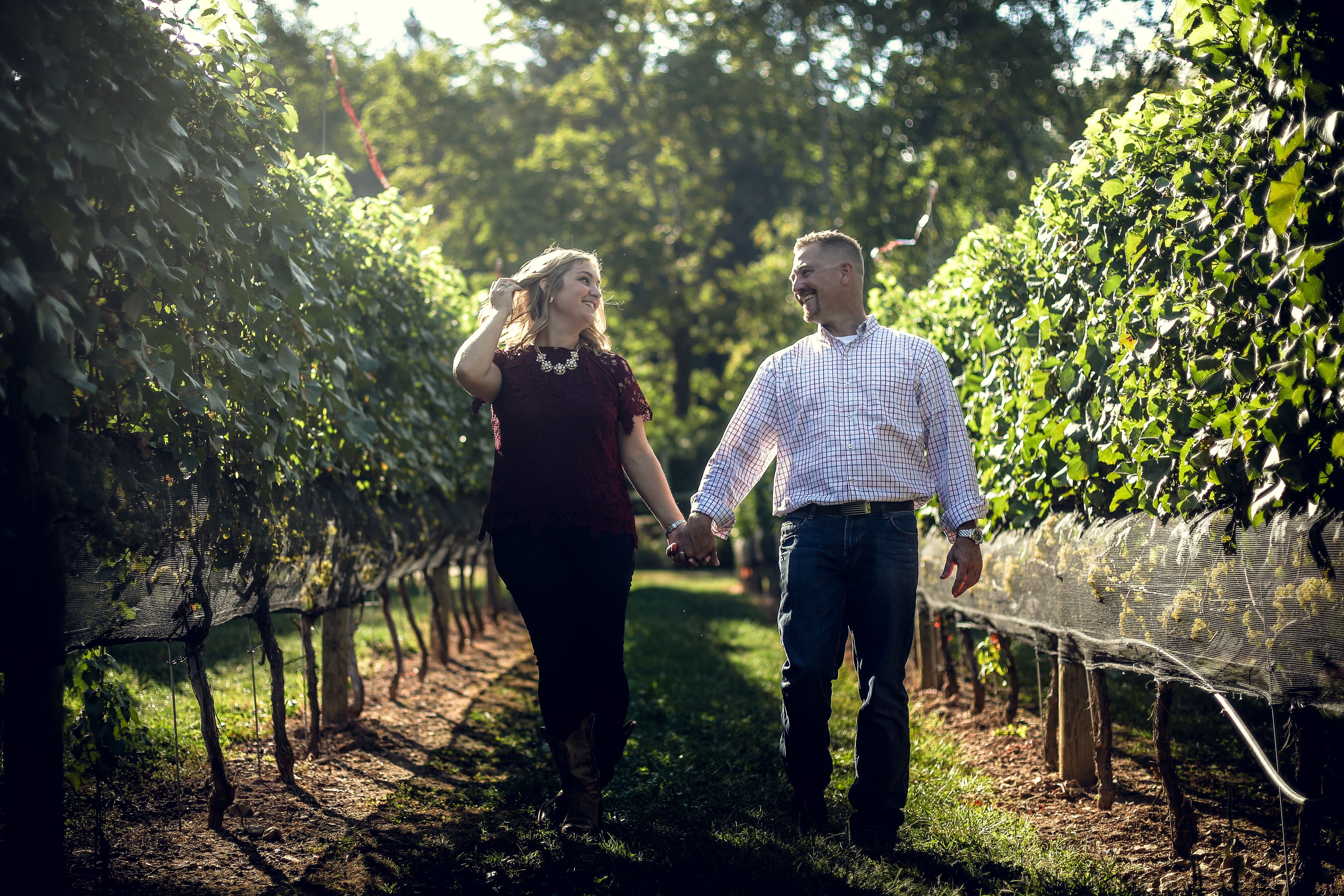 Happiness In The Vineyard Intimate Events At Maple Springs