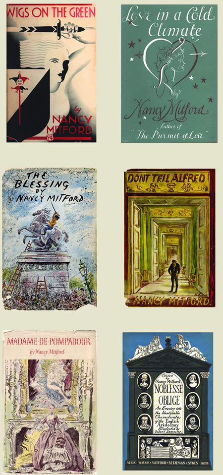 All by Nancy Mitford