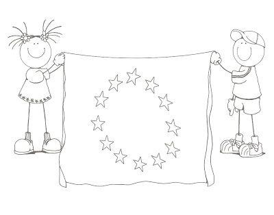 9 MAYO DÍA EUROPA   Dia de europa, Europa, Belenes