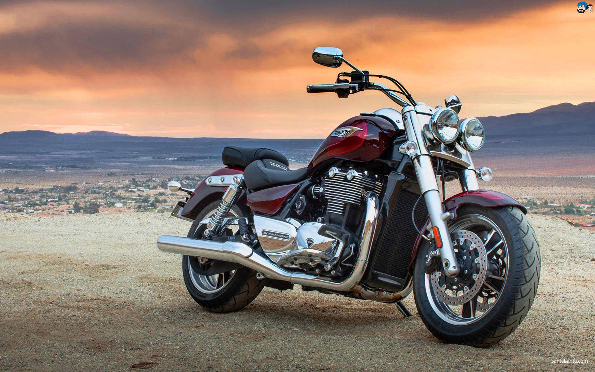 Обои Thunderbird, Triumph, bike. Мотоциклы foto 8