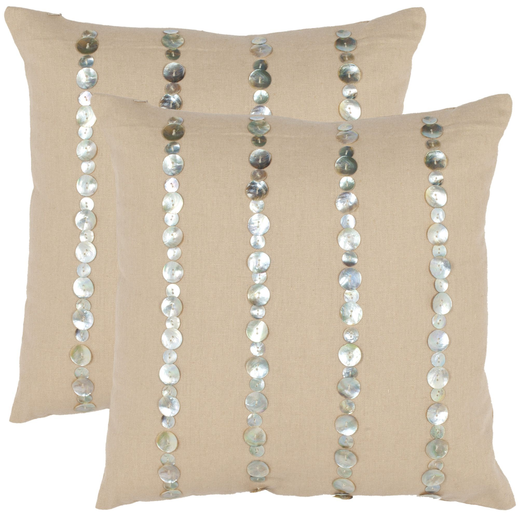 Zayden Cotton Throw Pillow
