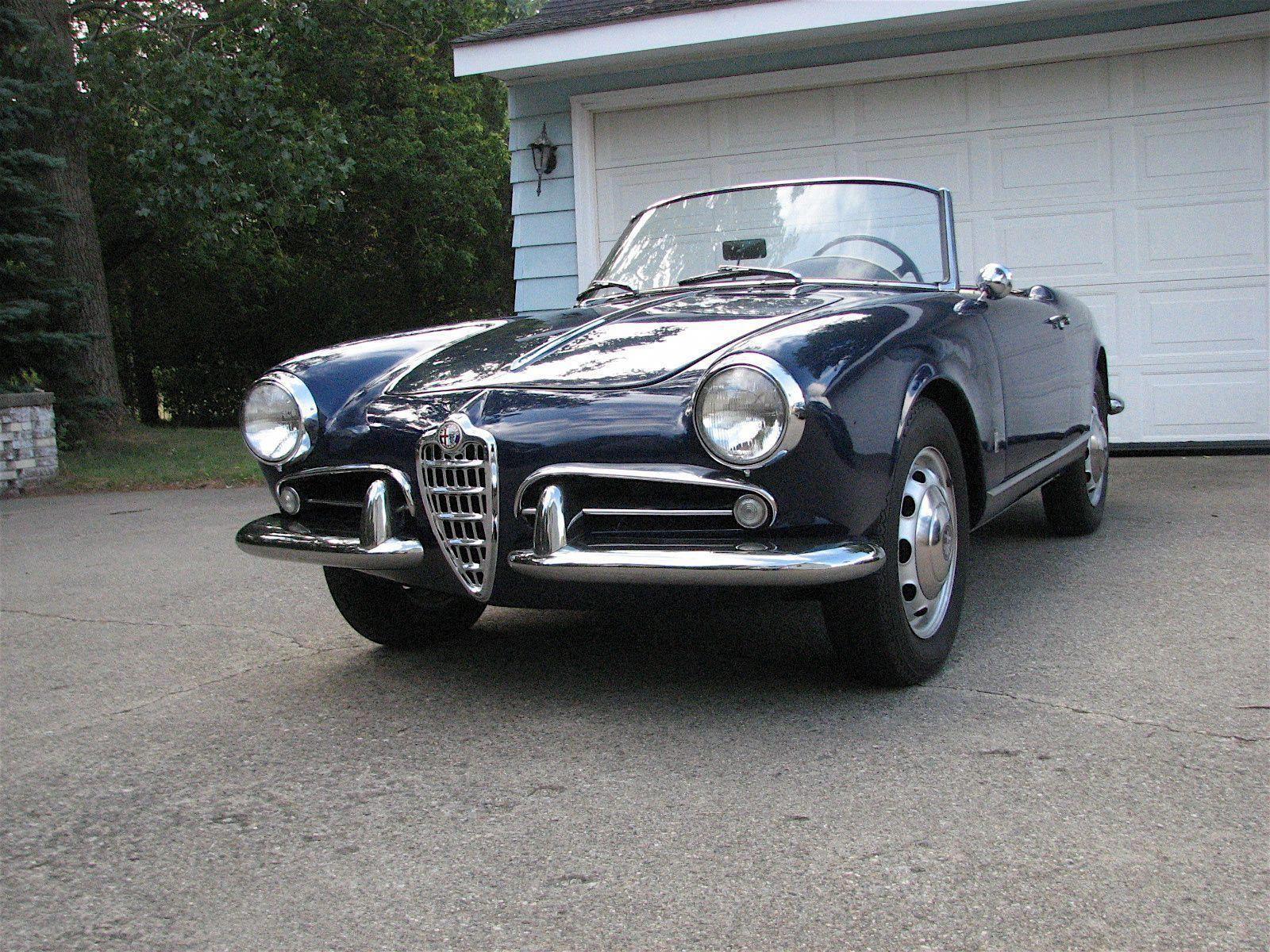 Alfa Romeo Giulia Spider Veloce 1958 alfaromeogiulia a
