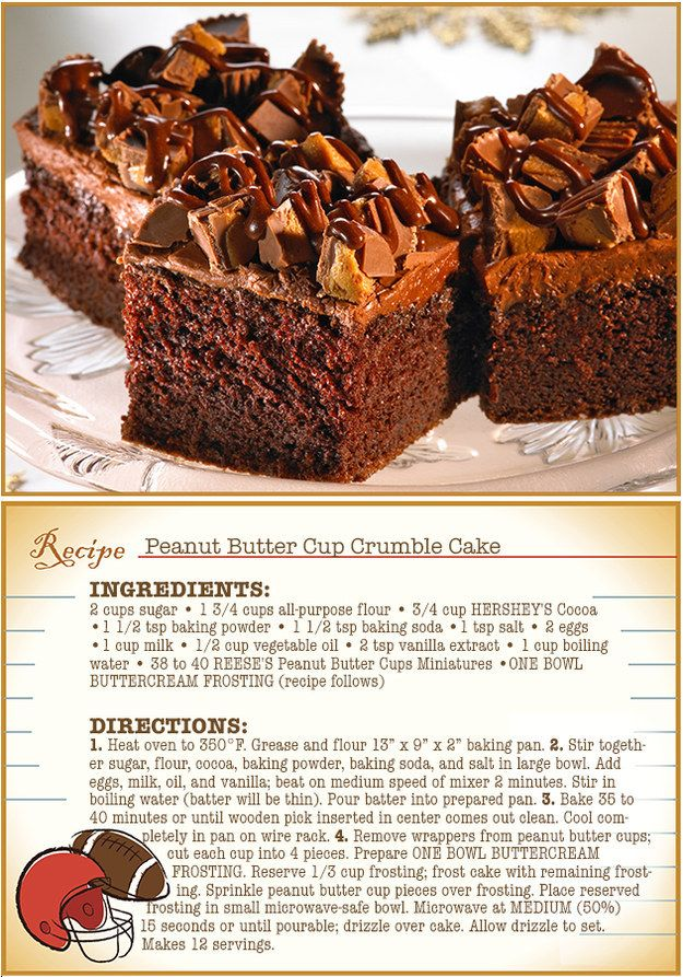 Pileup Peanut Butter Cake Dessert Recipes Sweet Recipes Delicious Desserts