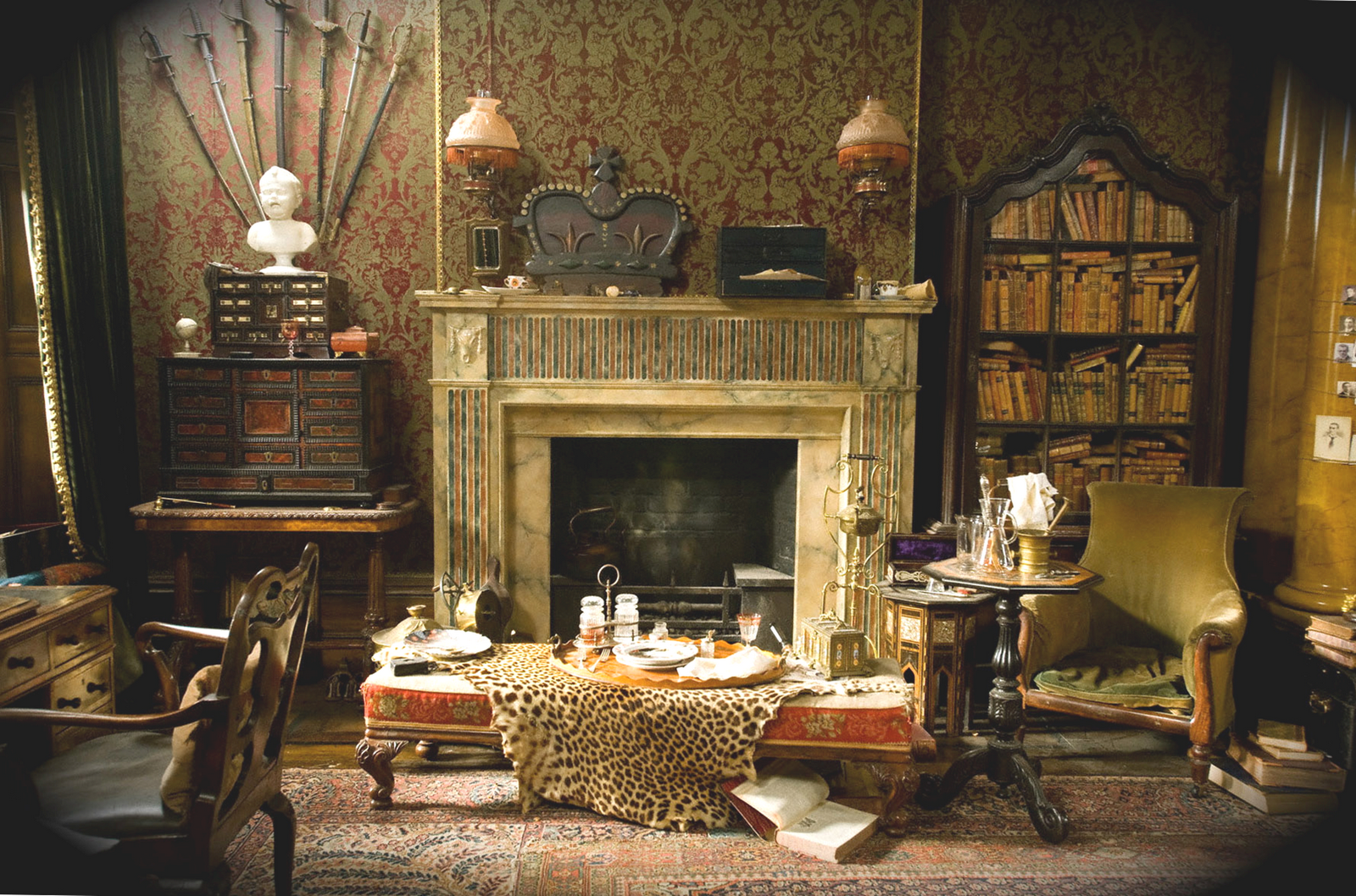 sherlock holmes style decor google search cottage