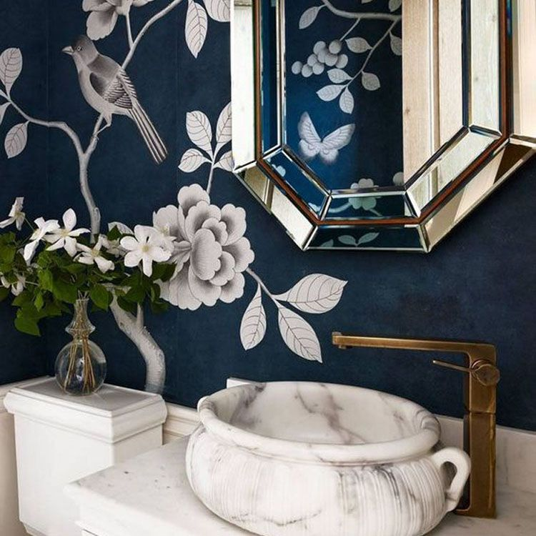 Bathroom Decorating Ideas The Prettiest Powder Room