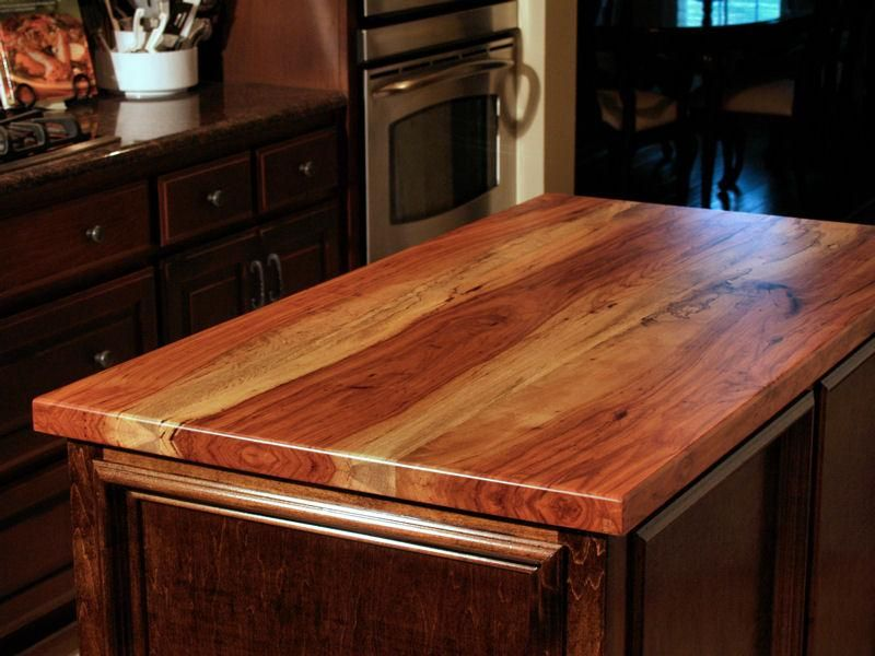 Waterlox Tung Oil And Low Voc Sealers And Finishes Protect Wood Countertops With A Durable A Outdoor Kitchen Countertops Outdoor Kitchen Bars Wood Countertops