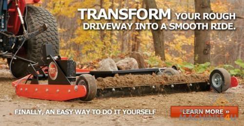 DR Power Grader - http://www.machines4u.com.au/browse/Farm-Machinery/Garden-Lawn-Turf-140/Lawn-Turf-Equipment-1074/