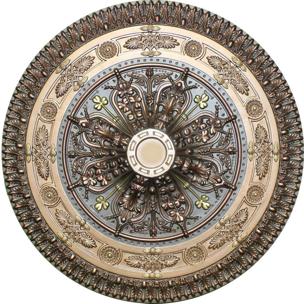 Antique Ceiling Medallions | MD 9127 Antique Bronze Ceiling Medallion
