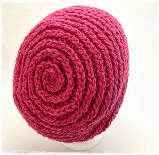 Nur Nicht Den Faden Verlieren Neues Freebook Spiralmütze Crochet