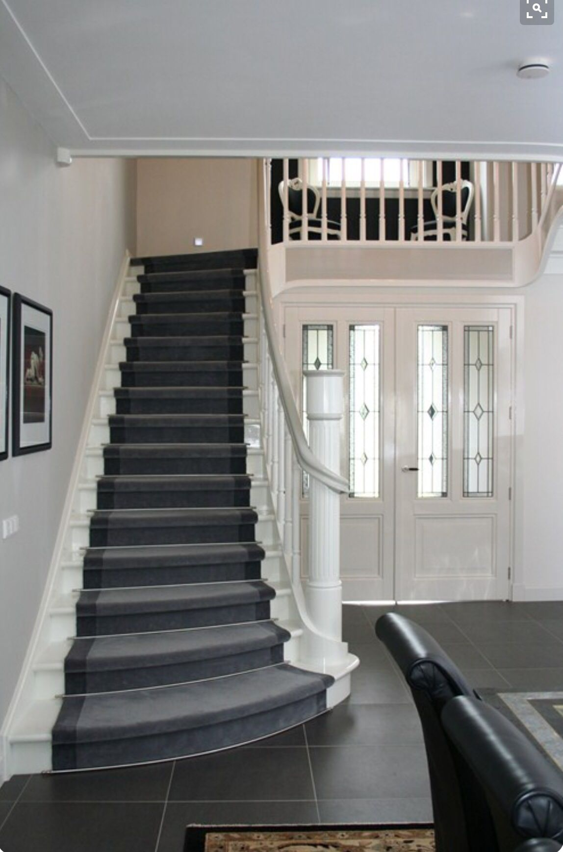Best Good Example Of The Charcoal Tiles And White Trim 400 x 300