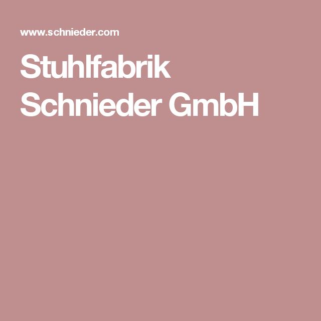 Stuhlfabrik Schnieder Gmbh Cafe Pinterest Cafes