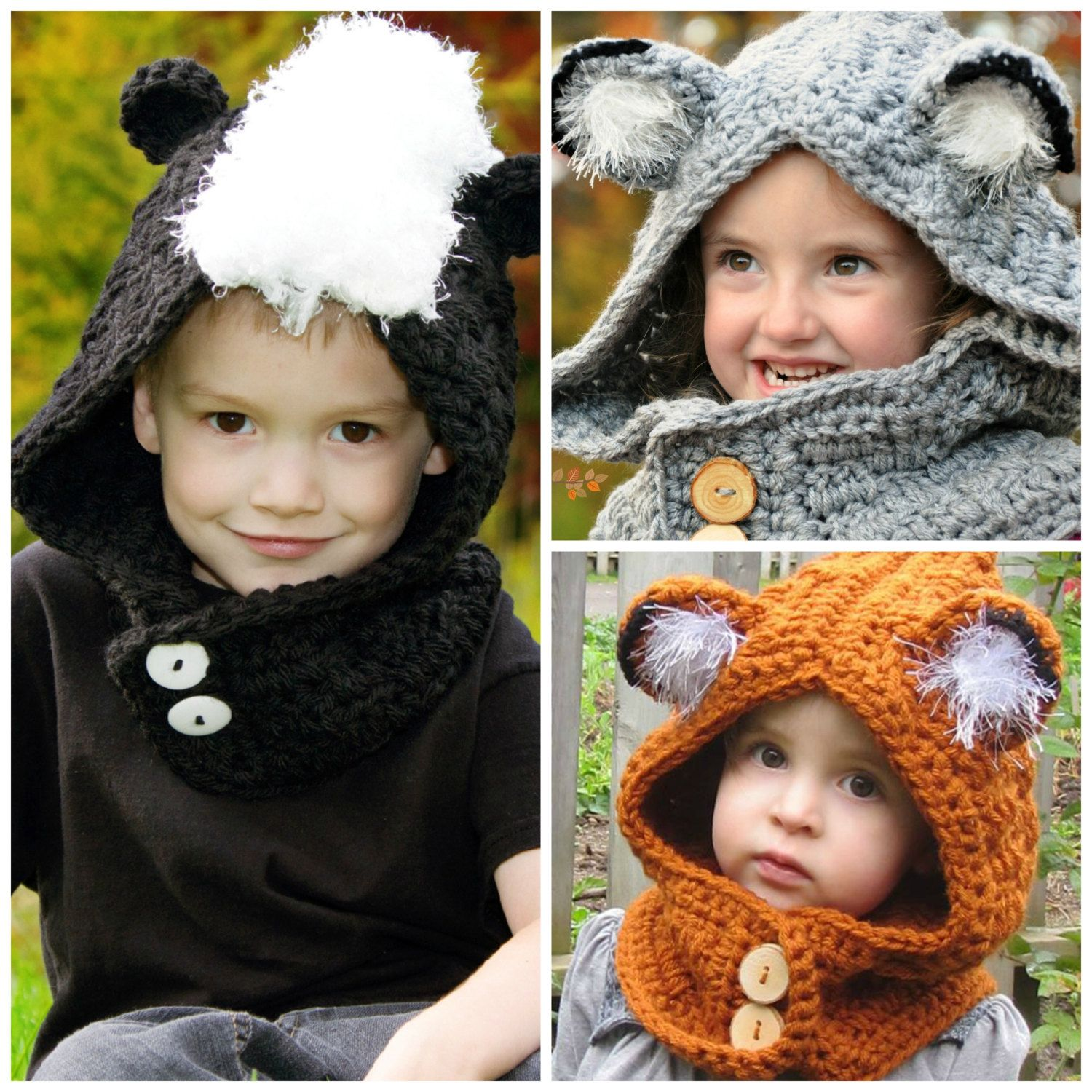 Woodland friends hooded cowl crochet pattern pdf by bysincerelypam woodland friends hooded cowl crochet pattern pdf by bysincerelypam 500 bankloansurffo Images