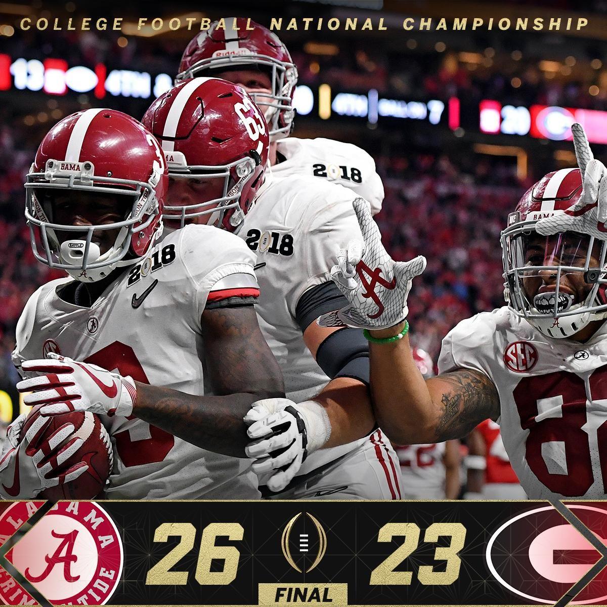 0803a2b6d2a ESPN CollegeFootball (@ESPNCFB) | Twitter | Roll Tide ❤ | Alabama ...