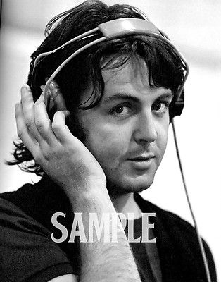 "The Beatles Paul McCartney 11 x 14/"" Photo Print"