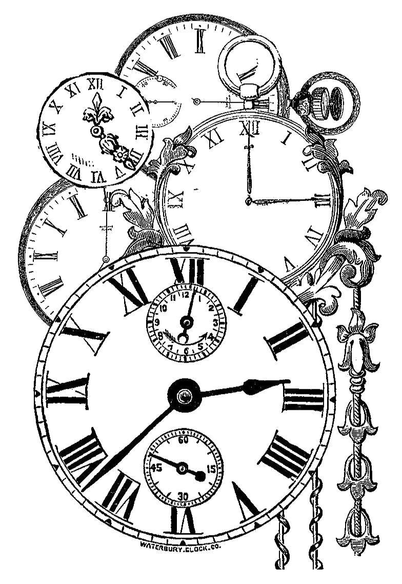 Pin By Karin Algera On Printables Clock Drawings Paper