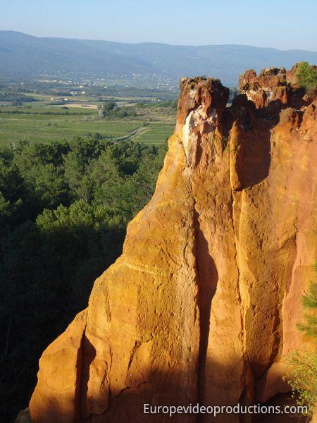 Roussillon in Südfrankreich