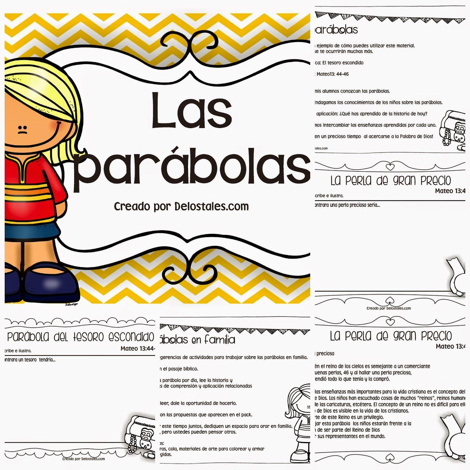 De los tales: Las parábolas de Jesús | Cole | Pinterest | parábolas ...