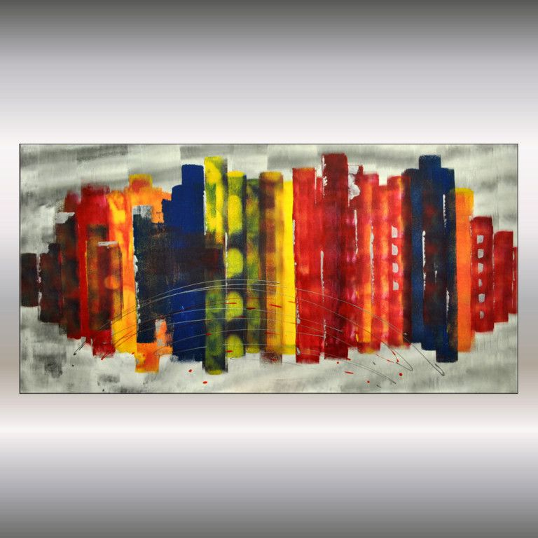 25 Creative Canvas Wall Art Ideas For Living Room Colorful Canvas Paintings Canvas Painting Easy Canvas Art
