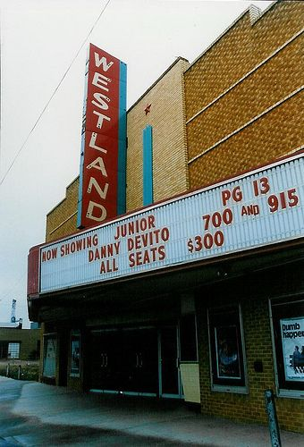 Westland Elk City Ok 1994 With Images Elk City Movie Marquee Elk City Oklahoma