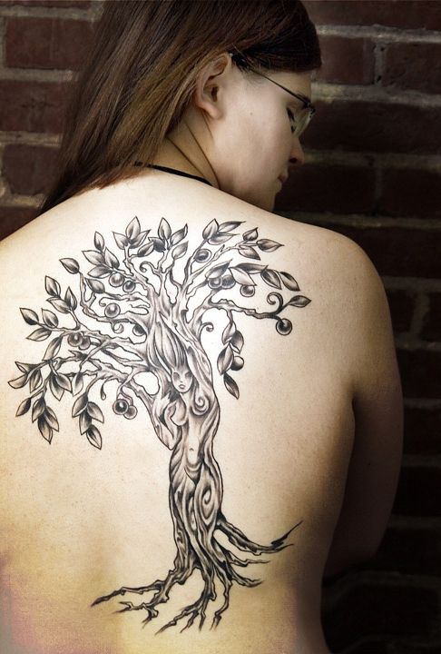 Women Tree Tattoos : women, tattoos, Tattoos, Cynthia, Rudzis, Woman, Tattoo,, Willow, Tattoos,