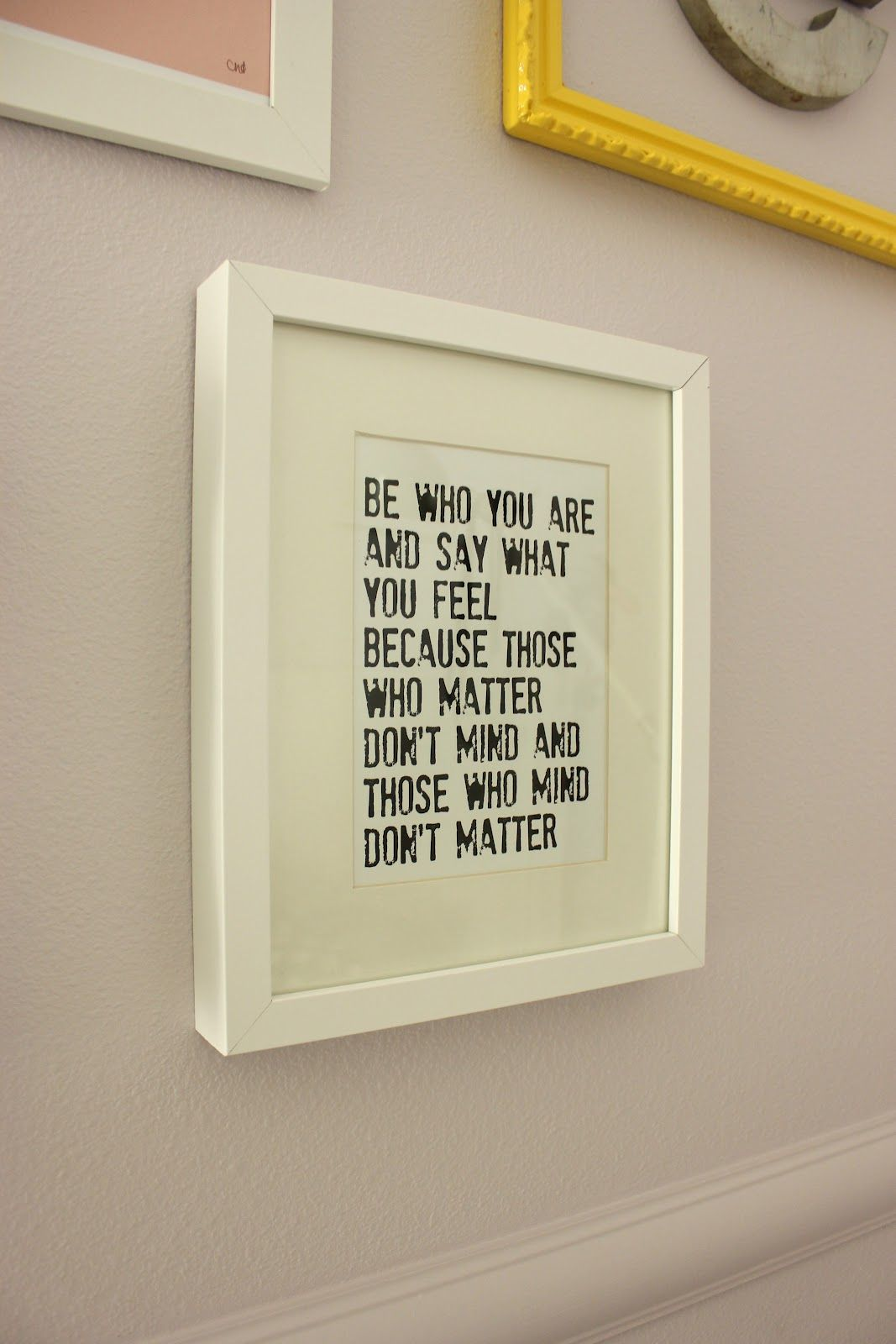 Picture Frames With Quotes Framed quotes. I'll use pink paper and brown frames with some  Picture Frames With Quotes