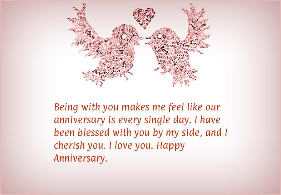 Being With You Makes Me Feel Like Our Anniversary Is Every Single