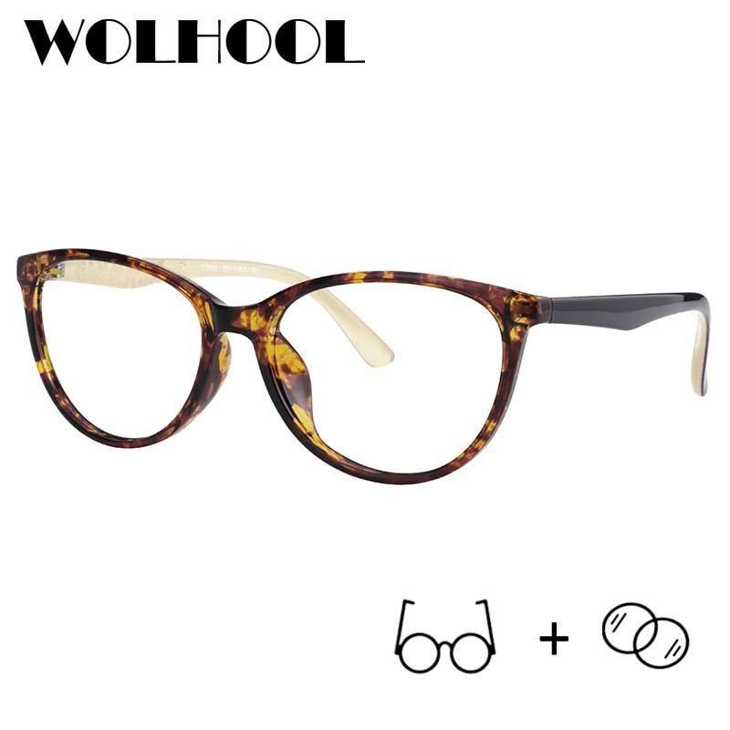 0bc53ecab0 Best Price Retro Cat Eye Photochromic Computer Prescription Glasses Women  Light Anti-slip Progressive Prescription