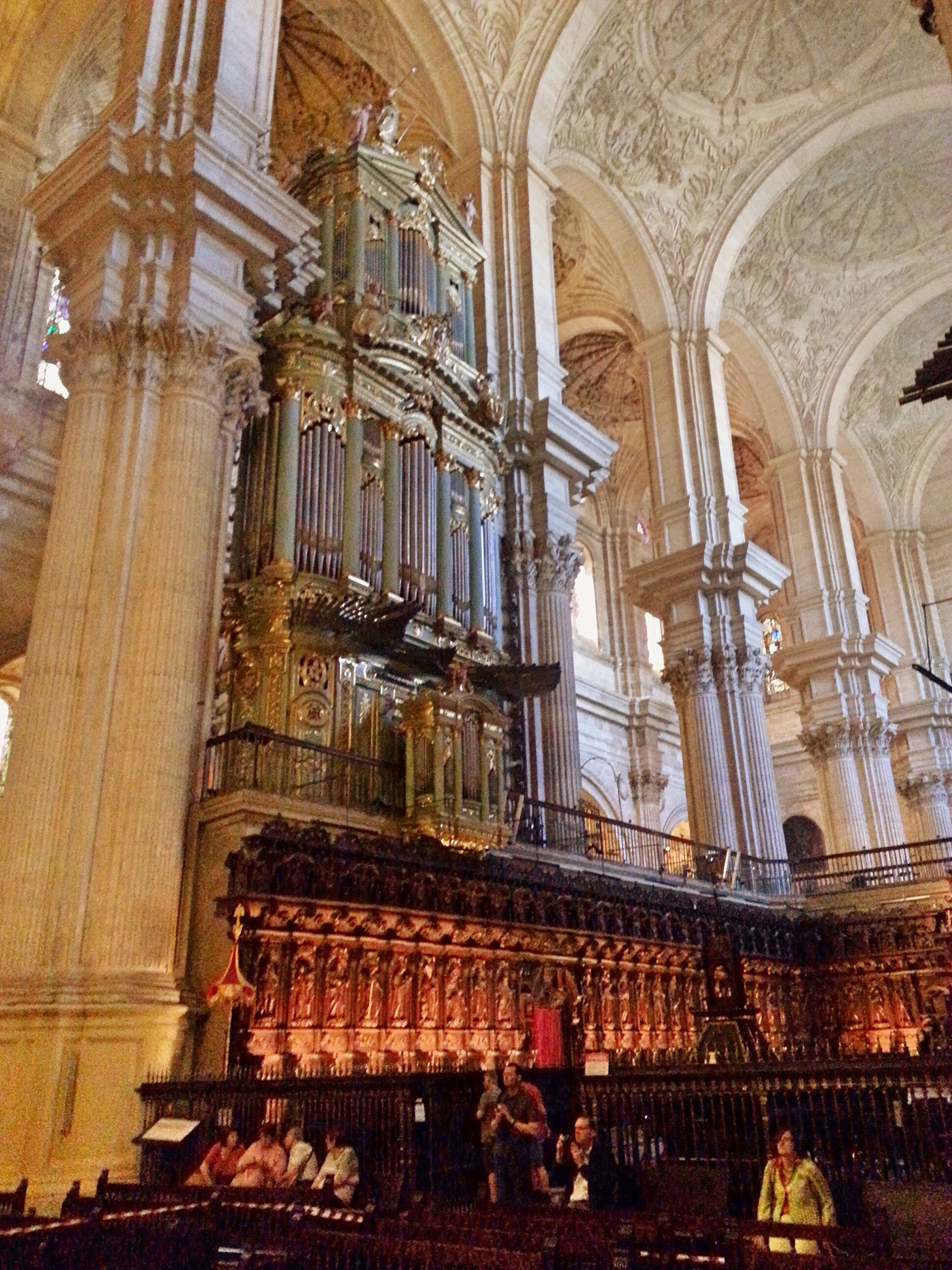 Organo de la catedral de m laga espa a la caja fue - Arquitectos interioristas malaga ...