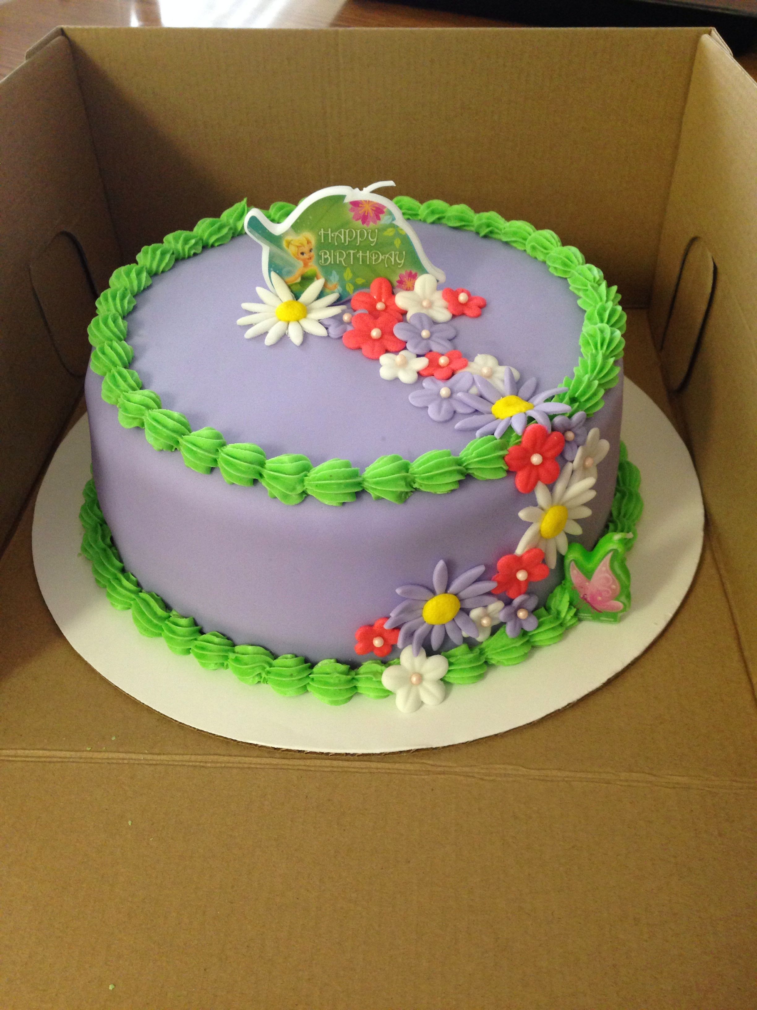 Tinkerbell Birthday Cake Cakes Decorating Recipe Pops Birthdays