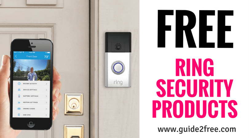 How to Get a FREE Ring Video Doorbell Ring doorbell