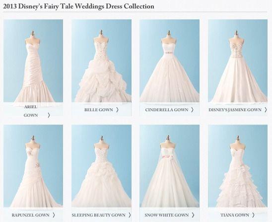 3 Wishes Disney Weddings Wedding Princess Inspired Dresses