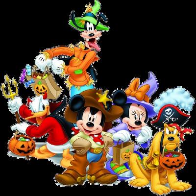 Mickey Halloween Clipart